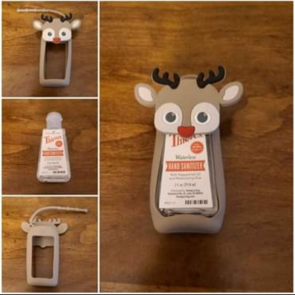 Young Living Thieves Hand Sanitizer & Reindeer Pal